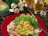 Salat mit Rührei Rezept