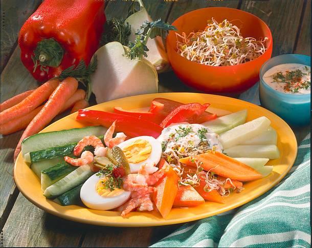 Salat-Teller Rezept