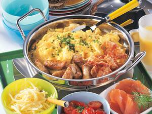 Salatplatte mit Ei Rezept