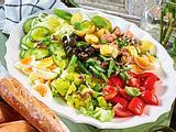 Salatplatte à la Nizza Rezept