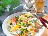Salatteller mit Putenstreifen (Diabetiker) Rezept