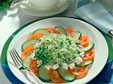 Salatteller mit Schafskäse Rezept