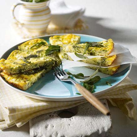 salbei zucchini frittata rezept chefkoch rezepte auf kochen backen und schnelle. Black Bedroom Furniture Sets. Home Design Ideas