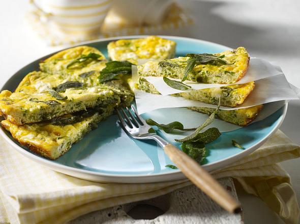 Salbei-Zucchini-Frittata Rezept