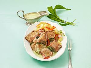 Saltimbocca mit Bärlauch Rezept