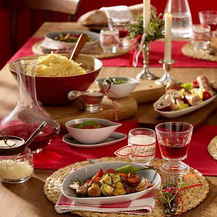 Saltimbocca mit Mozzarella-Tomaten-Salat Rezept