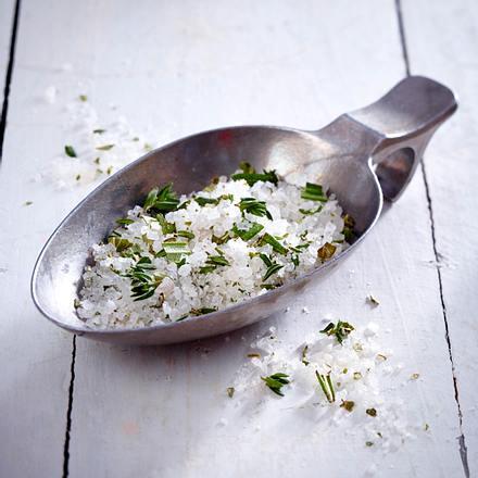 Salz mit Kräutern der Provence Rezept