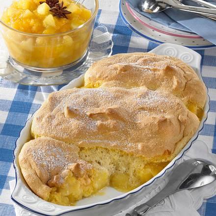 Salzburger Nockerln mit Apfelkompott Rezept