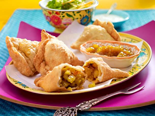 Streetfood - internationale Leckereien auf die Hand - samosas