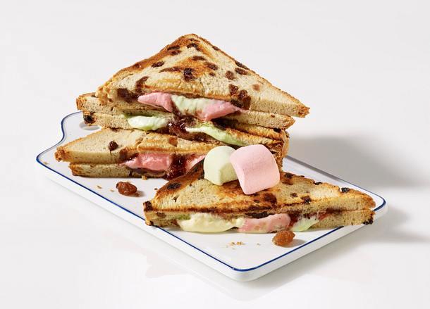 Sandwich 4x anders: Süßes Brot Rezept
