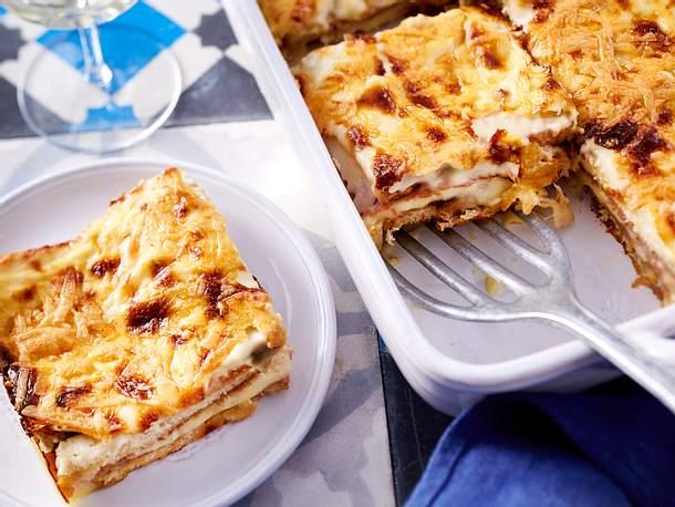 Sandwich-Lasagne Rezept