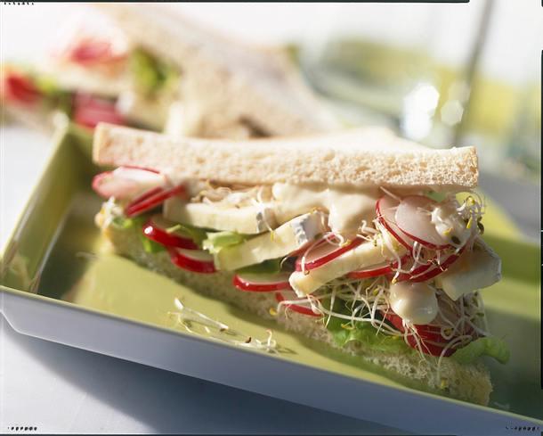 Sandwich mit Brie Rezept