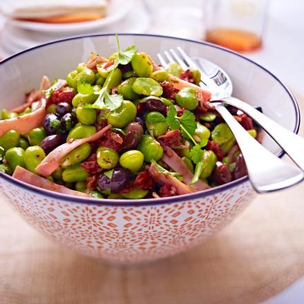 Saubohnensalat Rezept