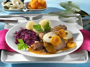 Sauerbraten mit Backobst Rezept