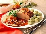 Sauerbraten mit Kräuterkartoffelknödel Rezept