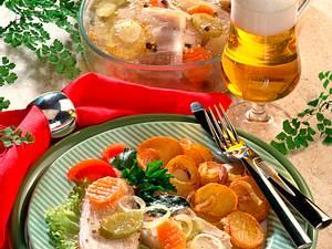 Sauerfleisch in Aspik Rezept