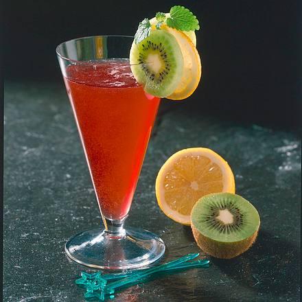 Sauerkirsch-Holunder-Drink Rezept