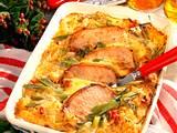 Sauerkraut-Auflauf mit Schweinesteaks Rezept