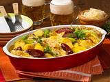 Sauerkraut-Kartoffel-Auflauf Rezept