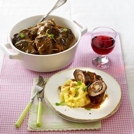 Sauerkraut-Rouladen Rezept