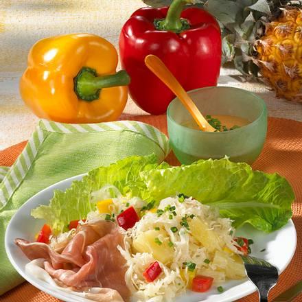Sauerkraut-Salat Rezept