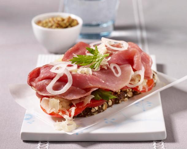 Sauerkraut Sandwich Rezept