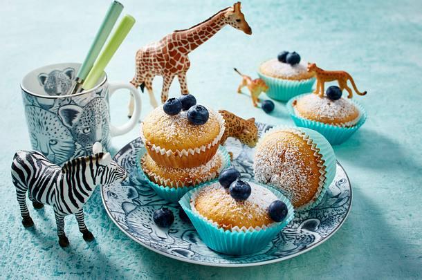 Saure-Sahne-Muffins Rezept