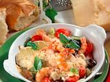 Scampi-Gemüse-Pfännchen (Diabetiker) Rezept