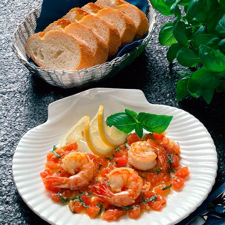Scampi in feiner Tomatensoße Rezept