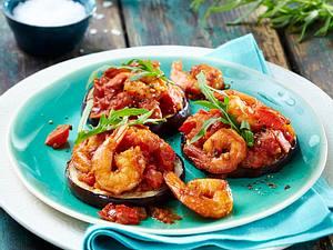 Scampi mit Tomaten-Rosmarin-Soße Rezept