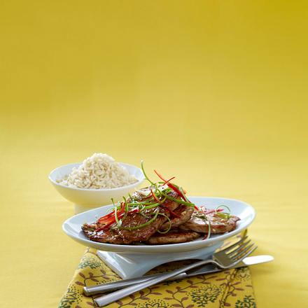 Scharfe Asia-Schnitzel Rezept