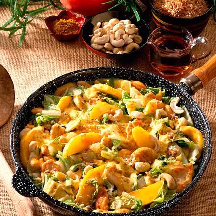 Scharfe Currypfanne Rezept