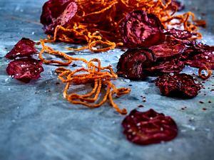 Scharfe Gemüse-Chips Rezept