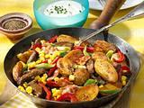 Scharfe Kartoffel-Steak-Pfanne Rezept