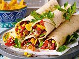 Scharfe Mexiko-Wraps Rezept