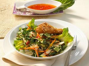 Scharfer Paksoi-Salat Rezept