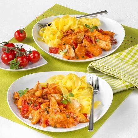 Scharfes Hähnchen-Tomaten-Ragout Rezept