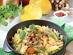 Scharfes Schmorgemüse mit Mango Rezept