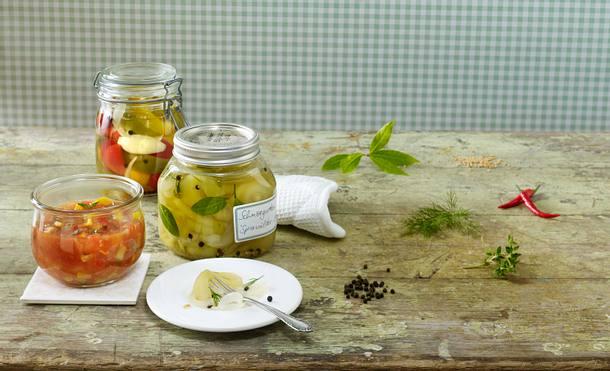 Scharfes Tomaten-Zucchini-Chutney Rezept