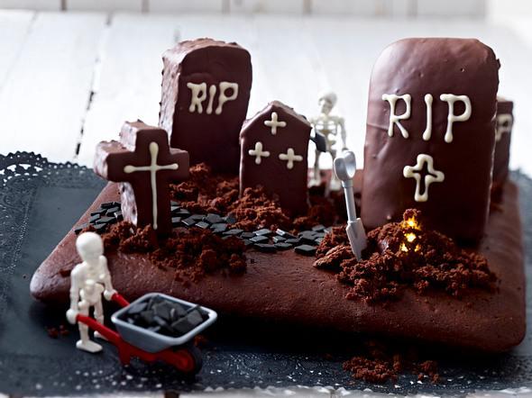 Schauderhafter Friedhofskuchen Rezept