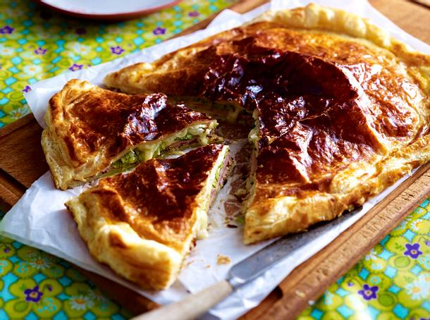 Schinken-Käse-Pie Rezept