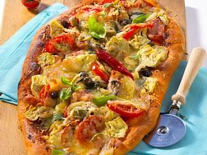 Schinken-Pizza Rezept