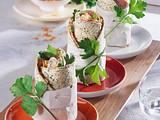 Schinken-Wraps mit Krautsalat Rezept
