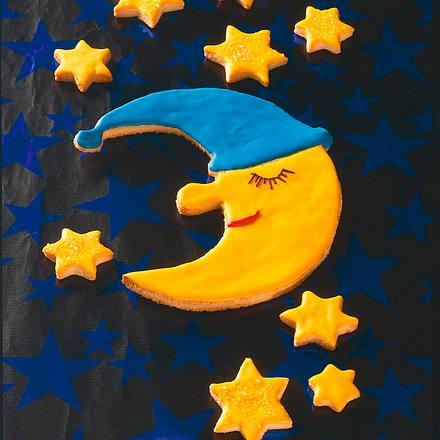 Schlafender Mond und viele Sterne Rezept