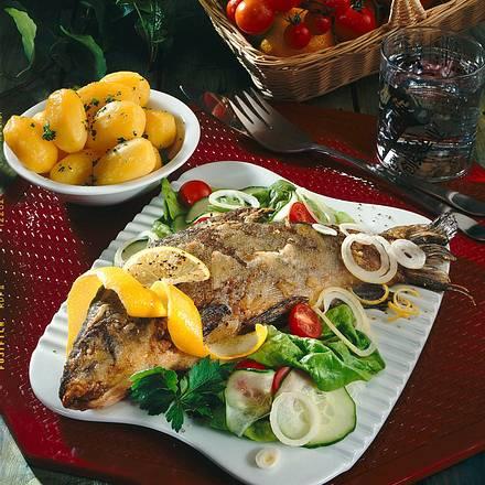 Schleie mit Salat Rezept