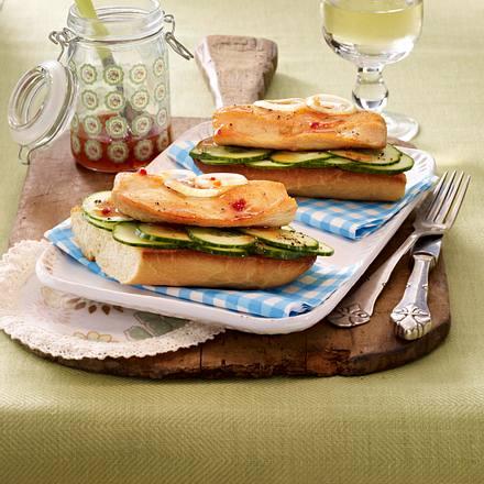 Schlemmer-Brot mit Putenschnitzel Rezept