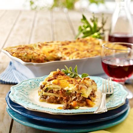Schlemmer-Lasagne mit Rinderragout Rezept
