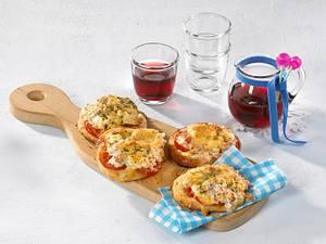 Schlemmer-Pizza-Brötchen Rezept