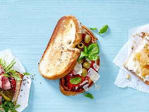 Schlemmer-Sandwich mit Veggie-Bolognese Rezept