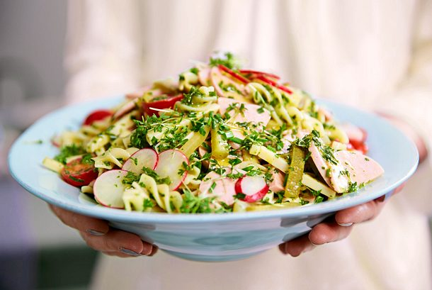 Schmankerl-Salat Rezept